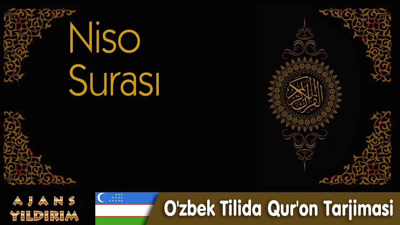 004 Niso - O'zbek Tilida Qur'on Tarjimasi MyTub.uz