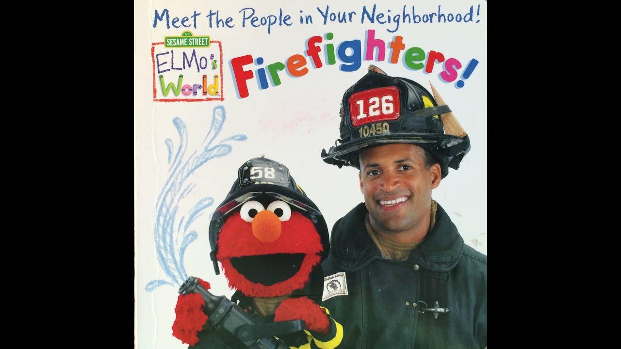 Firefighter People My Neighborhood