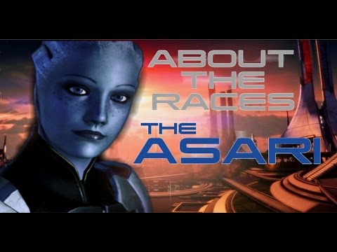 About the Races: Asari