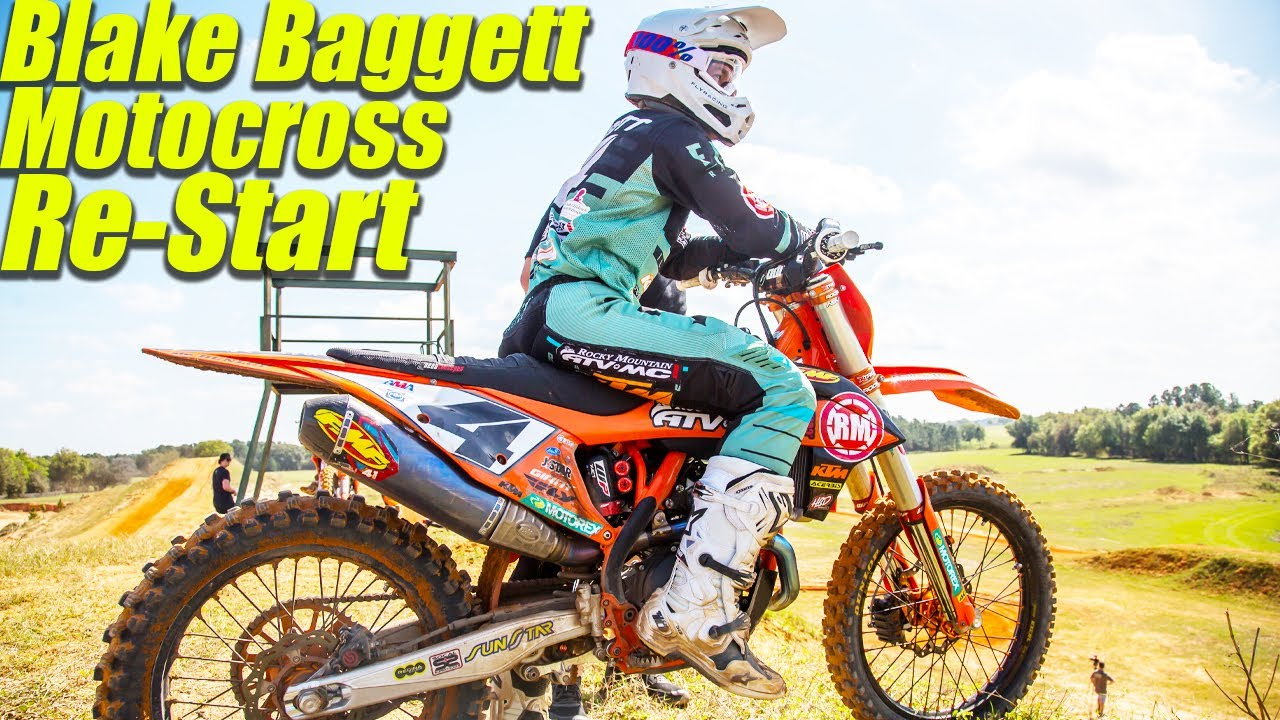 Blake Baggett Motocross Restart - Motocross Action Magazine