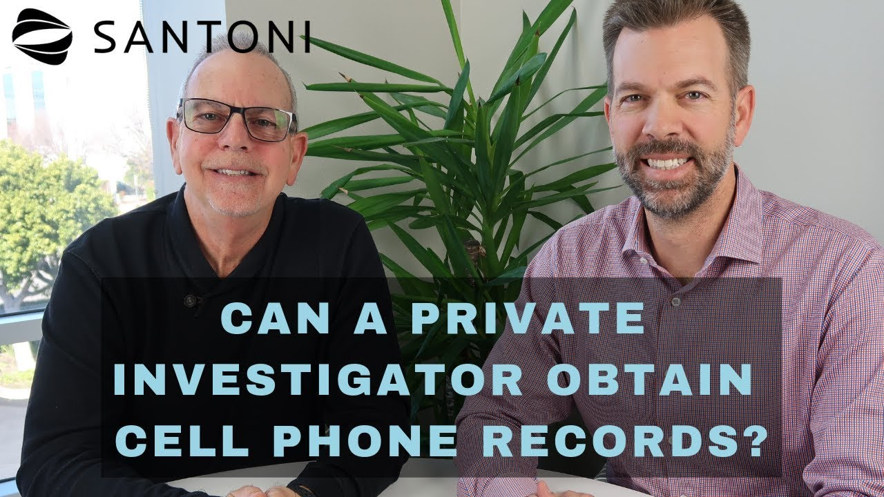 Can A Private Investigator Get Access To Cell Phone Records Youtube