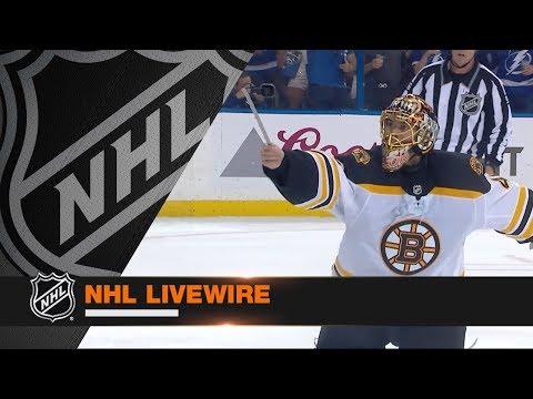 NHL LiveWire: Bruins, Lightning mic'd up for wild Game 1