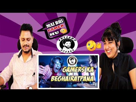 Indian Reaction On GAMERS KA BEGHAIRATPANA | AWESAMO SPEAKS | Krishna Views
