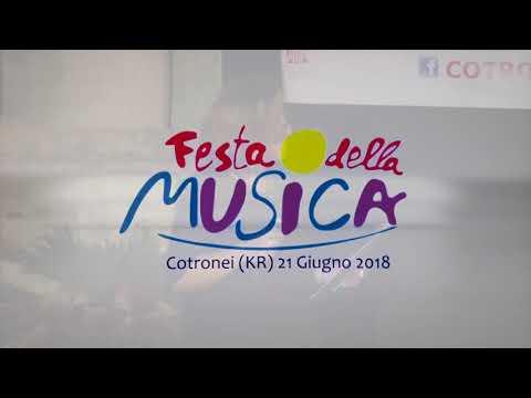 FESTA DELLA MUSICA 21 GIUGNO 2018   COTRONEI