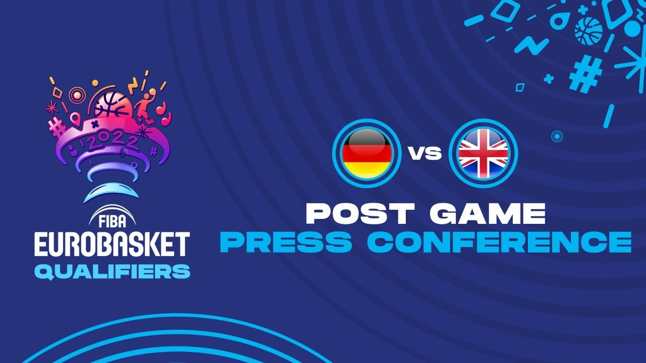 Germany v Great Britain - Press Conference - FIBA EuroBasket Qualifiers 2022
