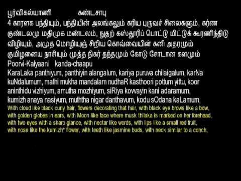 2B Abhirami Padhikam Smt Rajalakshmi BalaSubramaniam English & Tamil  Lyrics  & Meaning English mp4
