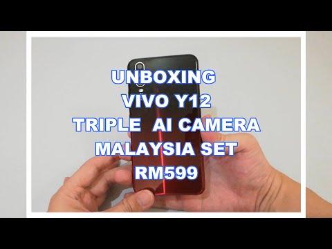 Unboxing Vivo Y12 32GB Triple Ai Camera Malaysia Set Rm599