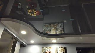 Designer ceiling remodeling!!! Multi level drop ceiling