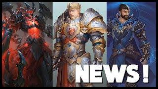 King Arthur & Merlin in SMITE! Godslayer Ares TIER 5 Skin And More! - Smite Season 6 News #3