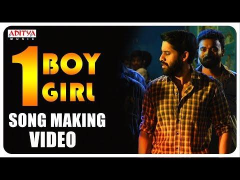 One Boy One Girl Song Making || MAJILI Song || Naga Chaitanya, Samantha, Divyansha Kaushik