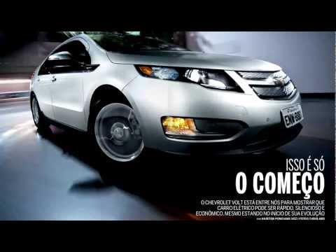 Uma volta no Chevrolet Volt
