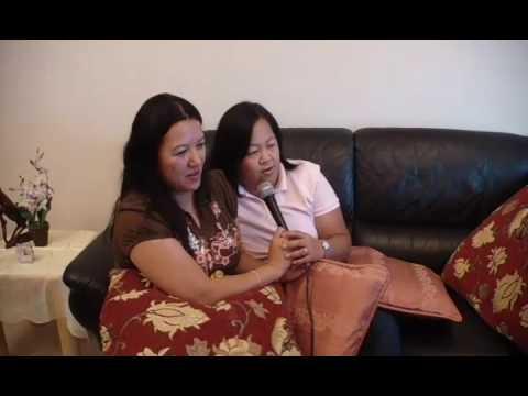 MLC 2 PINOY PARTY 2008 lani & abel singing - YouTube