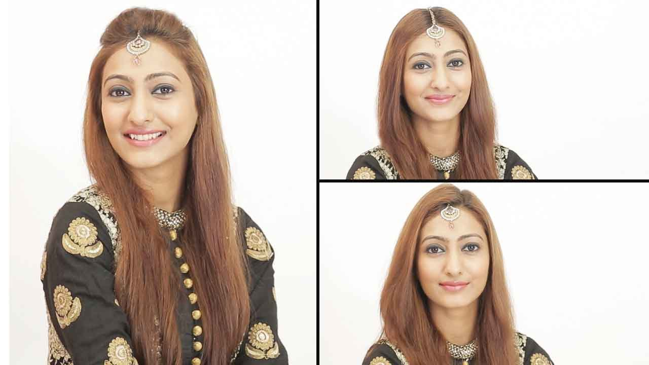 How To Wear A Maang Tikka | 3 Trendy Ways - YouTube