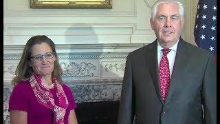 Tillerson, Canada Condemn Racist Violence In Virginia