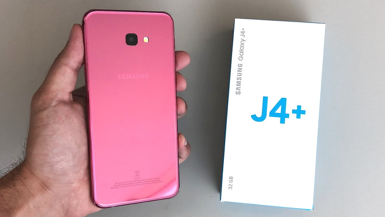 50c2cf391 Unboxing Samsung Galaxy J4 Plus