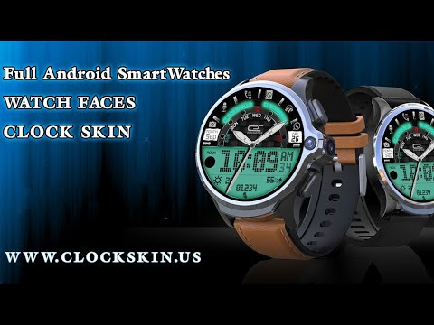 lemfo lem6 watch faces, full android smartwatches