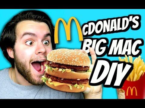 DIY Big Mac Burger! | How To Make McDonald's Cheeseburger! | Fast Food Tutorial
