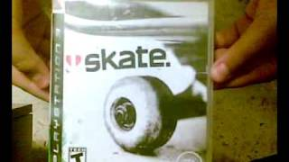 skate unboxing ps3