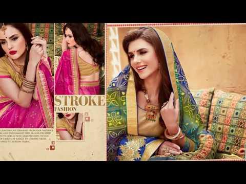 Fancy Saree Designs | Fancy Georgette Fabrics Zari and Thread Embroidery Work