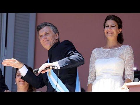 Mauricio Macri bailó y Gabriela Michetti cantó en la Casa Rosada