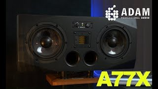 JOHN BROWNE | ADAM AUDIO A77X NEAR-MIDFIELD MONITORS