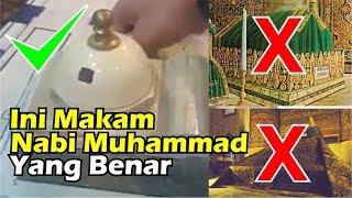 Ternyata Makam Nabi Muhammad dan Roudhoh Seperti Ini Tata Letaknya