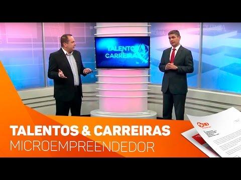 Quadro Talentos e Carreiras microempreendedor - TV SOROCABA/SBT