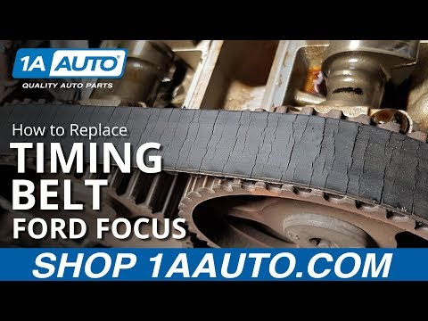 How to Replace Timing Belt 00-04 Ford Focus