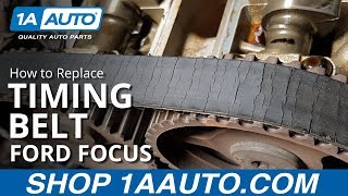 How to Replace Timing Belt 00-04 Ford Focus Sedan Wagon Hatchback
