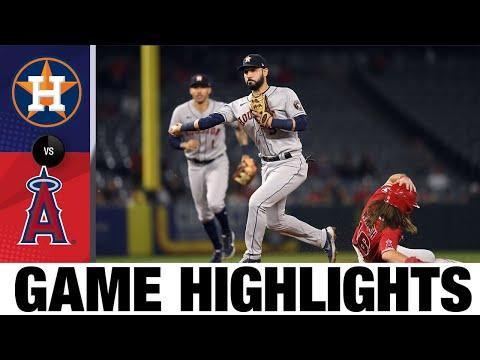 Astros vs. Angels Game Highlights (9/20/21) | MLB Highlights