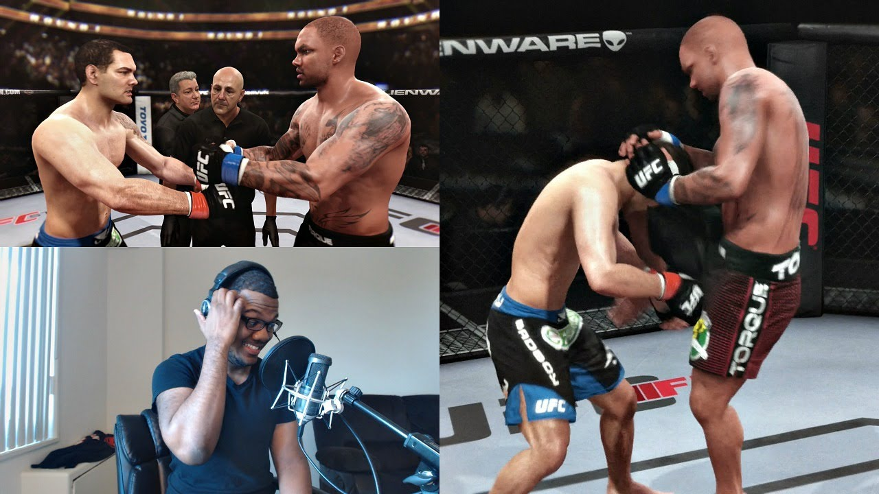 Download EA Sports UFC PS4 Career Mode Gameplay FACECAM - The UFC Championship!! Ep. 20