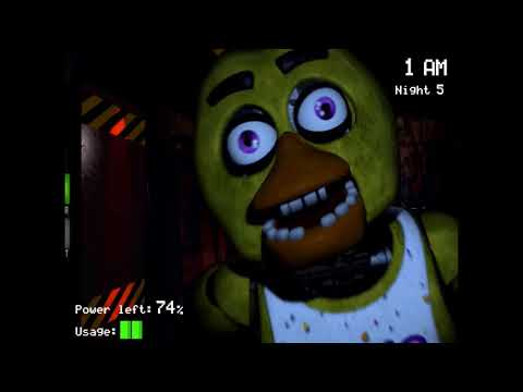 Five nights at Freddy's :terminator plays: