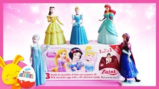 Princesses Disney - Œufs surprises -  Unboxing surprise eggs Disney Princess –Titounis