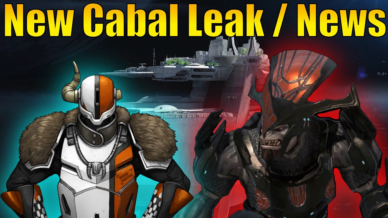 Destiny - NEW CABAL DLC Coming Or Destiny 2 Cabal Leak Tower Being  DESTROYED! (Cabal Raid)