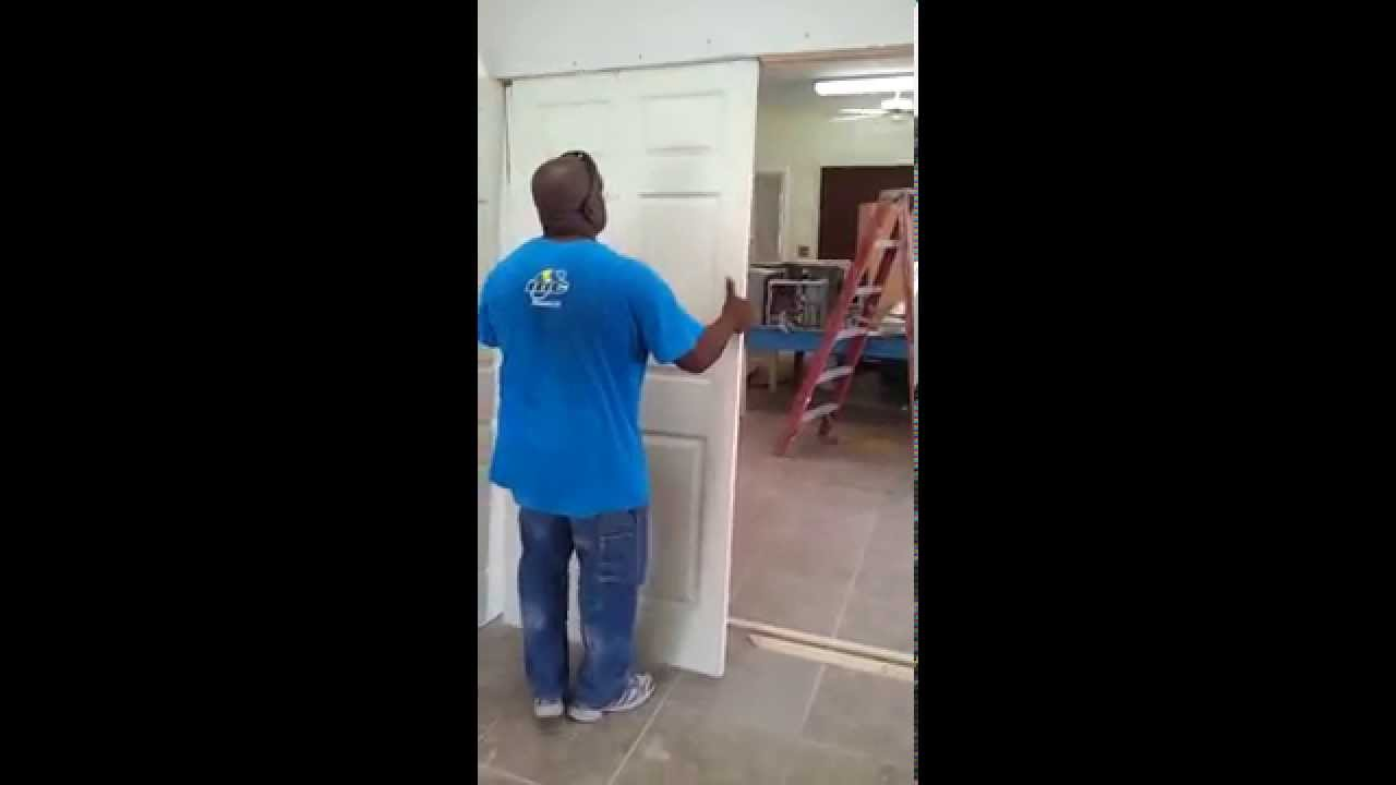 Removable Door And Wall Seperation Youtube
