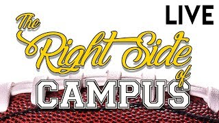 The Right Side Of Campus | Thursday Night Football, CFB & NBA Free Picks | Oct 19, 2017