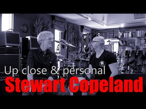 Up Close & Personal with Stewart Copeland