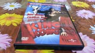 1976 King Kong DVD Unboxing