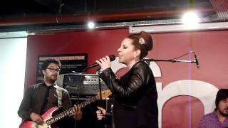 Robin McKelle - Miss you madly (Fnac showcase - Paris - March 10th 2012)