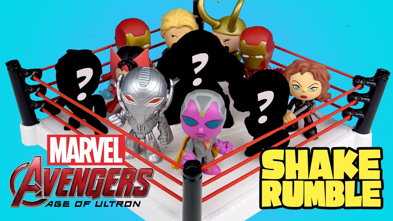 Marvel Avengers Toys Shake Rumble With Avengers Age Of