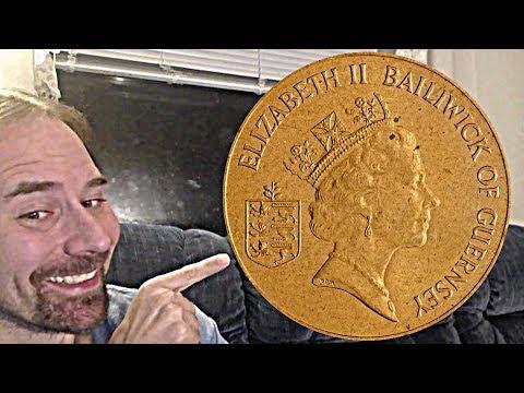 Guernsey 2 Pence 1990 coin