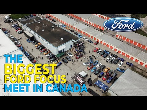 THE BIGGEST FOCUS RS/ST MEET IN CANADA!