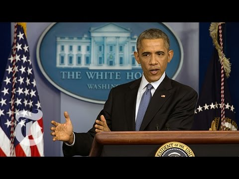 Obama Year-End Press Conference Today 12/19/14 [FULL]   The New York Times