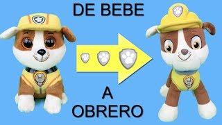 Juguetes paw patrol español:bebes! Rubble de parque infantil a patrulla canina.Nuevo capitulo 2018