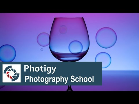 How to be a creative photographer: Using color gel filters (color filters) in studio photography.