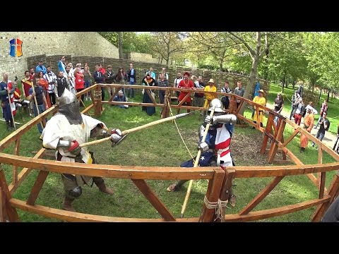 """Category polearm """"Duel"""" 1 vs 1, Playoff stage + FINALS. """"Battle of the Nations"""" - 2015"""