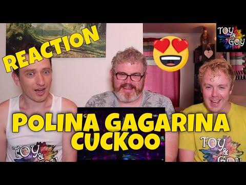 POLINA GAGARINA CUCKOO - KUKUSHKA - Reaction
