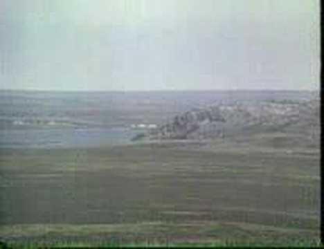 Dr Ridler explaining glacial rebound in Hudson Bay - 1975