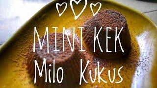 Milo Mini Kek Kukus I Steamed Mini Milo Cakes