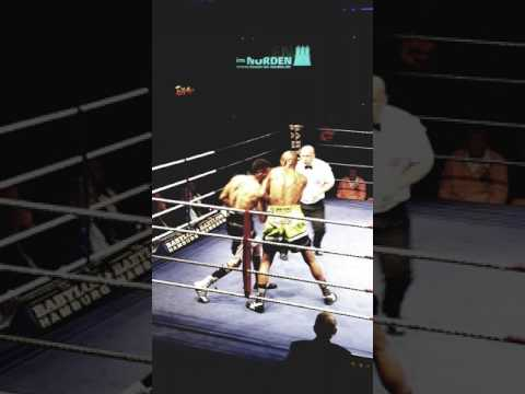 WBF World championship Boxing Super Welter weight Bajaron  VS Mhlongo